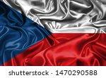 flag of czech republic 3d... | Shutterstock . vector #1470290588