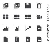 ui elements vector icons set ...