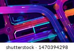 transport interchange in night... | Shutterstock .eps vector #1470394298