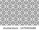 flower geometric pattern.... | Shutterstock . vector #1470403688