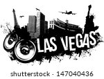 Stock vector las vegas music banner 147040436