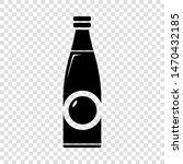 bottle icon. simple...