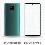 smartphone mockup for easy... | Shutterstock .eps vector #1470457958