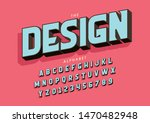 vector of stylized modern font... | Shutterstock .eps vector #1470482948