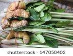 thai soup base vegetables for... | Shutterstock . vector #147050402