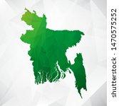 map of bangladesh   green... | Shutterstock .eps vector #1470575252