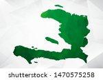 map of haiti   green geometric... | Shutterstock .eps vector #1470575258