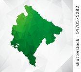 map of montenegro   green... | Shutterstock .eps vector #1470575282