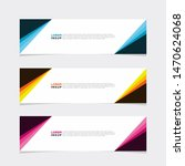 abstract geometric web design... | Shutterstock .eps vector #1470624068