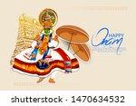 illustration of happy onam...   Shutterstock .eps vector #1470634532