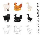 vector design of breeding and... | Shutterstock .eps vector #1470651995