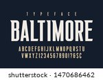 original condensed alphabet ...   Shutterstock .eps vector #1470686462