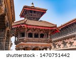 The Bhaktapur Durbar Square In Nepal
