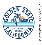 california  golden state text.... | Shutterstock .eps vector #1470792125