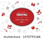 merry christmas and new year... | Shutterstock .eps vector #1470795188