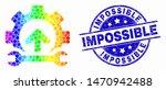 pixelated spectrum gear... | Shutterstock .eps vector #1470942488