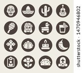 day of the dead holiday... | Shutterstock .eps vector #1470946802