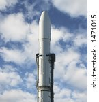 head of a rocket during the day | Shutterstock . vector #1471015