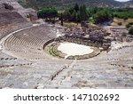 Amphitheater In Ephesus  Efes ...