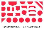 sale label collection set. sale ... | Shutterstock .eps vector #1471059515