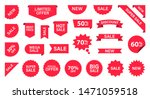 sale label collection set. sale ... | Shutterstock .eps vector #1471059518