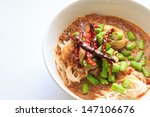 thai rice noodles | Shutterstock . vector #147106676