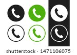 phone vector icon. contacts ...