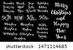 big vector handdrawn... | Shutterstock .eps vector #1471114685