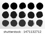 set of round button. hand... | Shutterstock .eps vector #1471132712