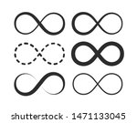infinity  eternity symbol....   Shutterstock .eps vector #1471133045