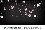 nice sakura blossom isolated... | Shutterstock .eps vector #1471134938