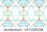 mosaic colorful horizontal... | Shutterstock . vector #1471335338