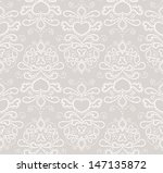 seamless pattern with swirls ... | Shutterstock .eps vector #147135872