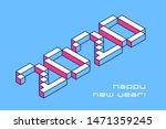 2020 happy new year typography... | Shutterstock .eps vector #1471359245