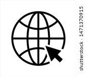 internet symbol.website icon.go ... | Shutterstock .eps vector #1471370915