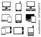 computer  tablet and smartphone ... | Shutterstock .eps vector #1471416575