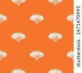 cute flower pattern vector...   Shutterstock .eps vector #1471470995