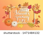 Banner For Happy Thanksgiving...