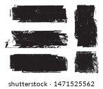 grunge paint roller . vector... | Shutterstock .eps vector #1471525562