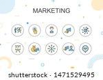 marketing trendy infographic...