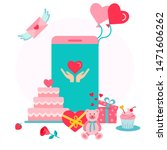 concept for party and...   Shutterstock .eps vector #1471606262