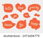 creative orange speech bubbles...   Shutterstock .eps vector #1471606775