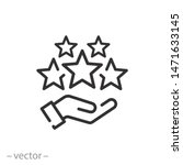 customer review icon  quality... | Shutterstock .eps vector #1471633145
