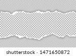 horizontal torn paper edge.... | Shutterstock .eps vector #1471650872