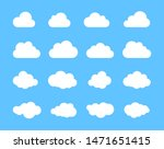 cloud. abstract white cloudy... | Shutterstock .eps vector #1471651415