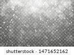 christmas snow. falling... | Shutterstock .eps vector #1471652162