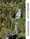 Undine Falls In The Northern...