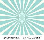 Blue Sunburst Pattern...