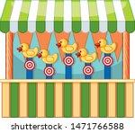 vendor design with ducks and...   Shutterstock .eps vector #1471766588