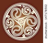 celtic knot ornament    Shutterstock .eps vector #147178502